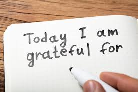 a note of gratitude